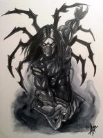 The Darkness Watercolor by AlexxiaTM