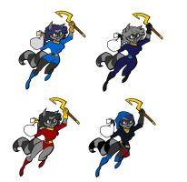 Lady Sly cooper by rotten-jelly-babie