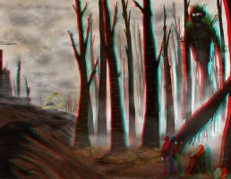 Spirit of the forest - 3D by master-of-dizazter