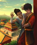 Zuko and Sokka by HawkeyeWong
