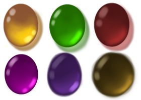 Colors Practice(Gems) by KiddlesTheCat