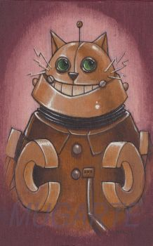 The Catsons- Robot cat by GenerArtist