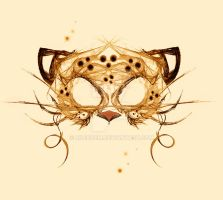 Leopard mask by rockgem