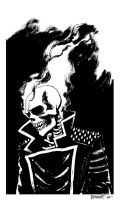 Sketch - Ghost Rider by B3NN3TT