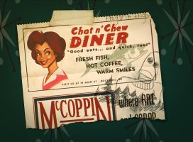 Chat n' Chew Diner by shoomlah