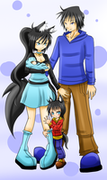 ~ Our happy family ~ by SugarYuyu