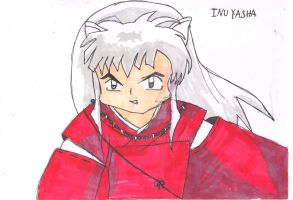 old art : Inuyasha by Bianca2012