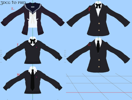 MMD UniformE-H -DOWNLOAD by MMDFakewings18