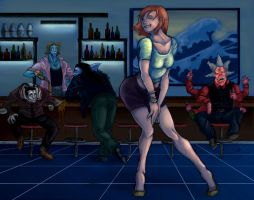 One Piece - Clubbin' by Rhandi-Mask