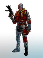 Deathlok: Agents of S.H.I.E.L.D. Concept by GuitarAtomik