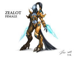 Female Zealot by Dio-Dong
