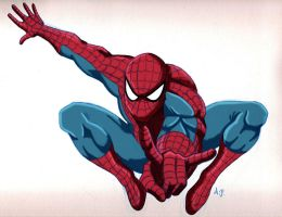 Spiderman by anapeig