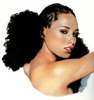 Alicia Keys by m-dot
