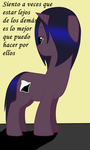 Emo Pony being emo by dolphin2