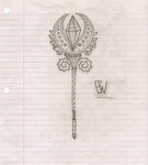Hand-Drawn Staff/Scepter by ShadowTrainer573