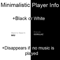 Minimalistic Player Info by Dashie36