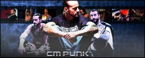 cm punk again by krislestrange
