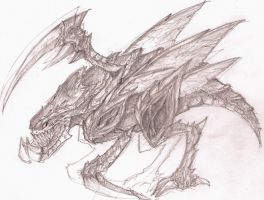 Zergling concept sketch by Sprintener