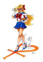 Sailor V by tsukinoyagami