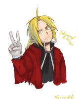 Edward Elric by Fulminant-R319