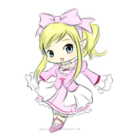 Mabinogi chibi request by AquariusMist