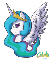 Celestia Portrait by TheYoungReaper