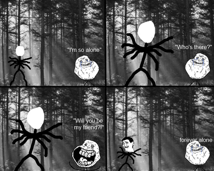 Slenderman: Meme (ORIGINAL HD REMAKE) by oldschooI