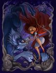 Red and Big Wolf by Flying-Fox