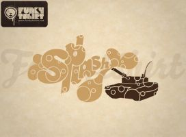 Tank Splash by Funkytshirt