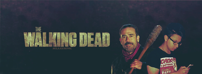 Negan TWD by AkilajoGraphic
