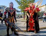 WoW Cosplay - Blood elves 2 by MistressAinley