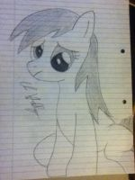 Derpy sketch by Chrispy248