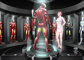 Invincible Ironman (Armory History) by CAPTAIN-GAMMA