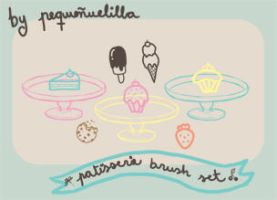 Patisserie brushes by Nana-viciouS