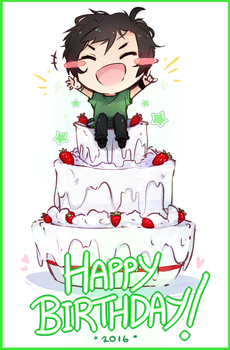 Happy Birthday Gero! by parapatter