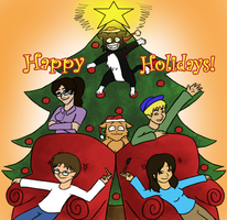 PL: Happy Holidays by accasperberry3