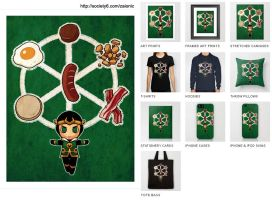 Society6  Kid Loki : Sausage is Magic by zaionic