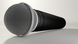 microphone 3D by tomtensrival