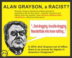 Is Alan Grayson a Racist? by Taxbane