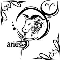Zodiac Sign Tattoo : Aries by MPtribe
