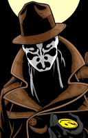 Rorschach Watchmen Series by Thuddleston
