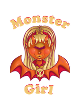 Monster Girl Design by SophieSuffocate