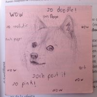 Such doodle. So pen doge by CharmanDrigo