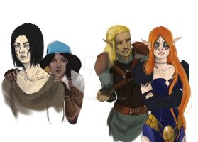 wip - tribute do DragonAge by ViBlue