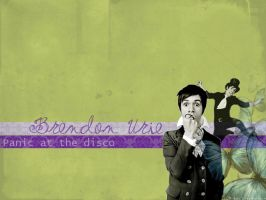 Brendon Urie Wallpaper by mrsUrie21