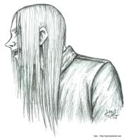 Psycho With Long Hair by JenL