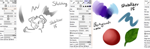 Brush Settings by BeautySnake