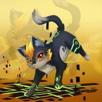 midna kitty by HylianGuardians