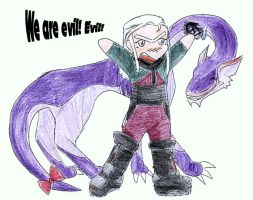 DB: We are so eeevil.... by Helaiah