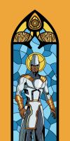 Osiris Stained Glass by phil-cho